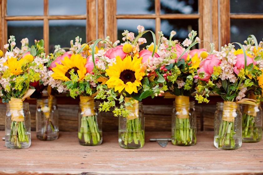 sunflower-bouquets